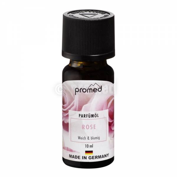 olio profumato alla rosa