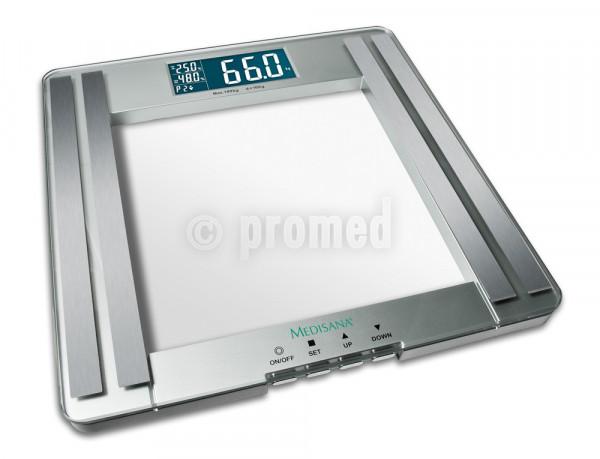 Medisana Bilancia per analisi corporea in vetro PSM